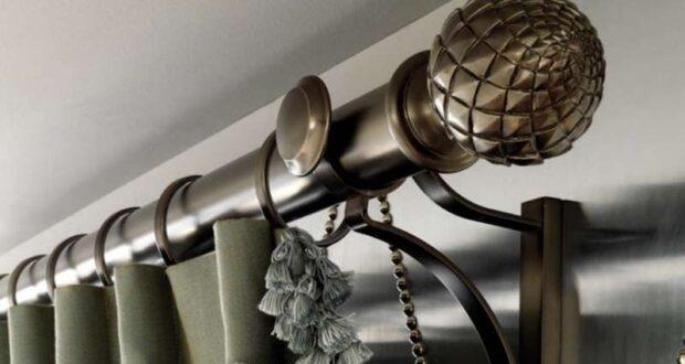 Как повесить карниз для штор на стену: виды гардин и способы установки