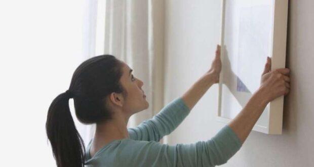 Как повесить картину на стену без сверления стены: лучшие способы крепления