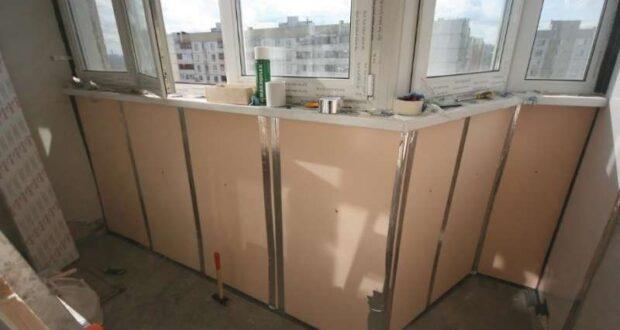 Как утеплить балкон своими руками: материалы и последовательность работ