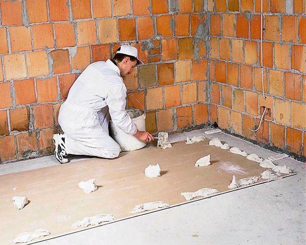 Бескаркасное выравнивание стен