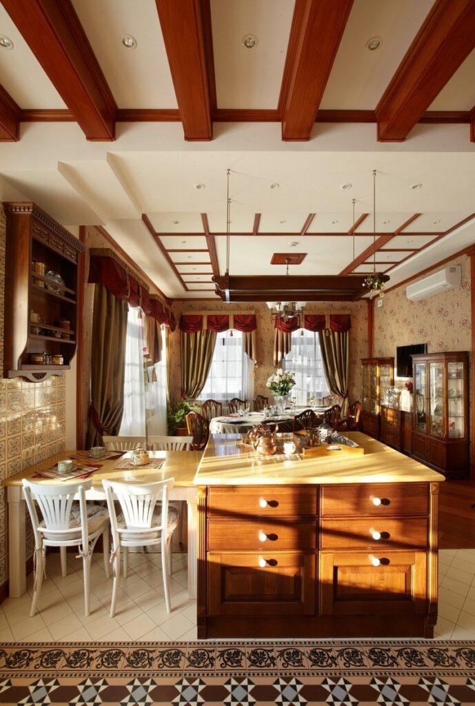 Дизайн штор для кухни_5