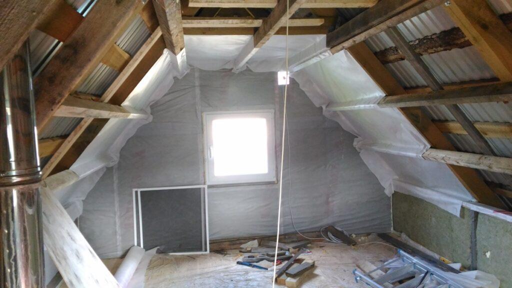 Теплоизоляция чердачного помещения