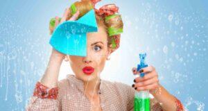 Как помыть глянцевый натяжной потолок?