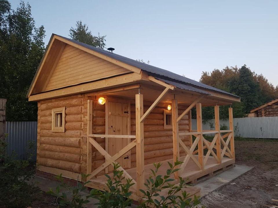Баня из деревянного бруса