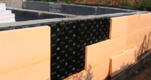 Технология утепления фундамента пеноплексом — монтаж и характеристики
