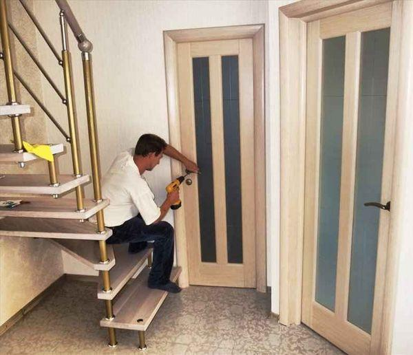 Инструкция по установке межкомнатных дверей своими руками